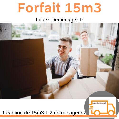 forfait 15 m3